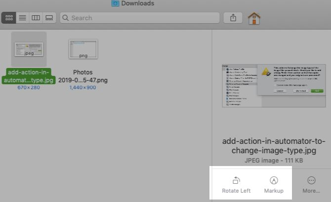 Finder's Quick Actions Complete Mac Tasks in One Click