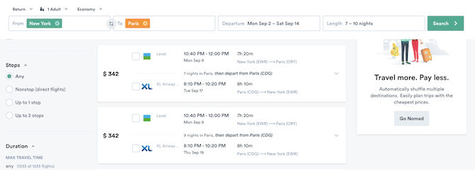 How to get cheap international flights within a certain date range