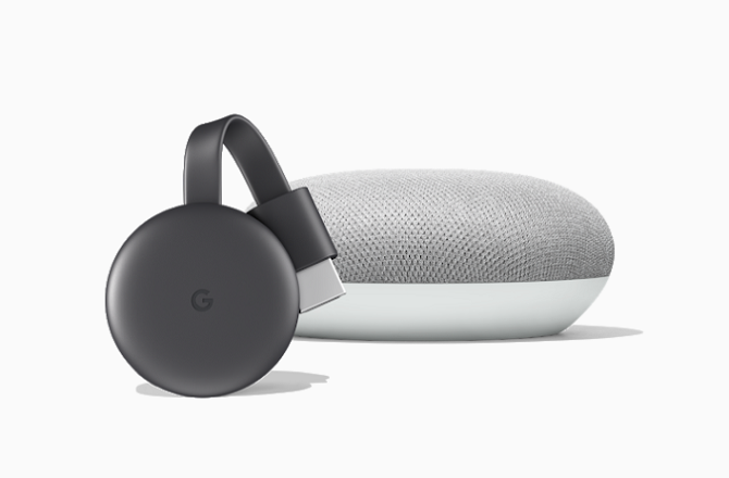 Google Home commands speaker with chromecast
