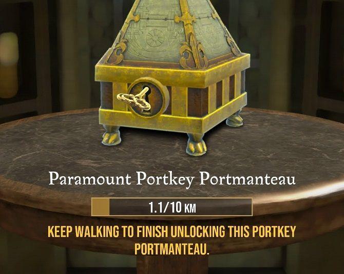 Harry Potter: Wizards Unite portkey distance tracking
