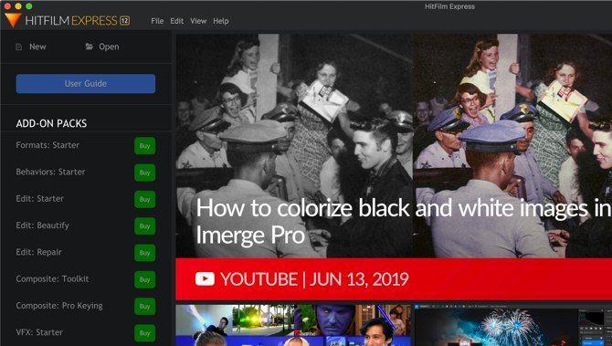 HitFilm Express vs  DaVinci Resolve: The Free Video Editor