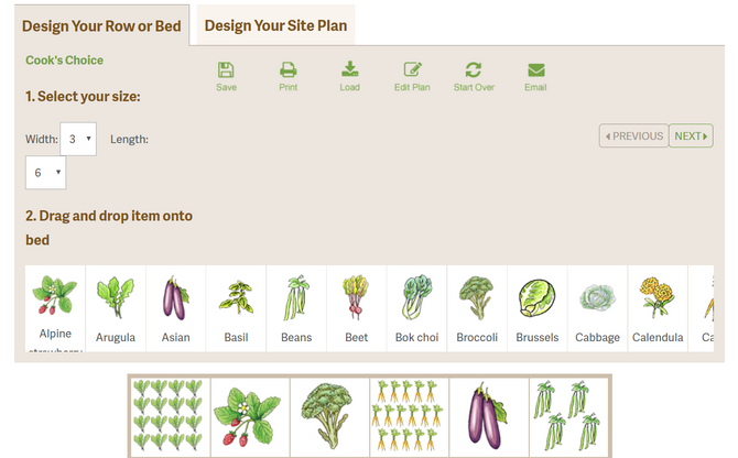 Kitchen Garden Planner Design Tool