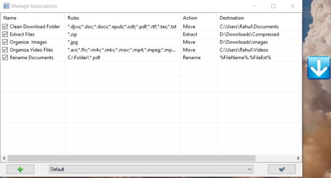organize files and folders using dropit