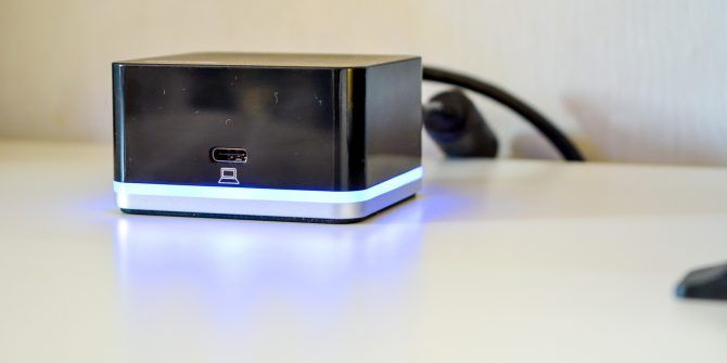 Plugable USB-C Cube Dock Turns Your Samsung Galaxy Into a Desktop PC