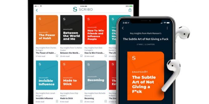 Scribd Snapshots Offer Bite-Sized Book Previews