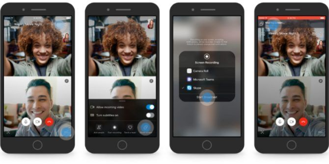 Skype Now Lets You Share Your Screen on Mobile