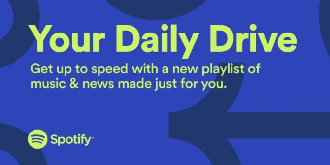 "Spotify Launches ""Your Daily Drive"" for Commuters"