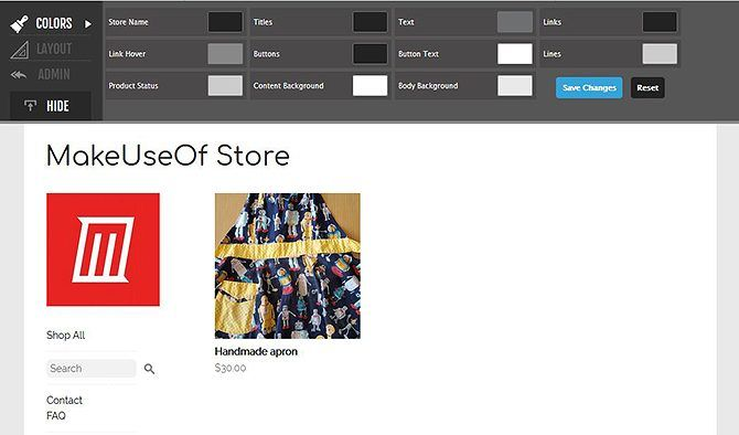 Set Up Your Own Online Store for Free - Customize Store