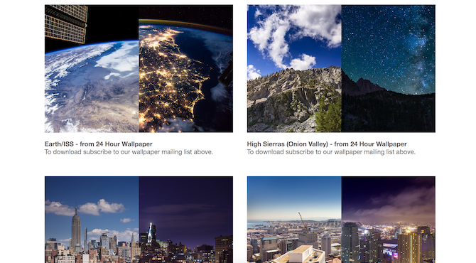 Download new macOS dynamic wallpapers with 24 Hour Wallpaper