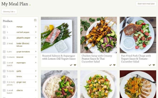 Mealime is the best meal planning app for beginners and newcomers