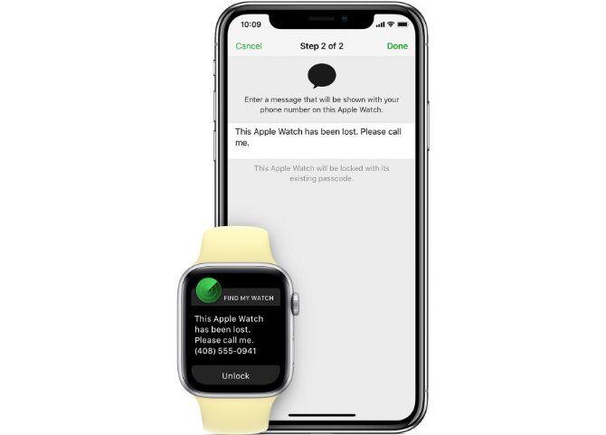 Apple Watch Lost Mode