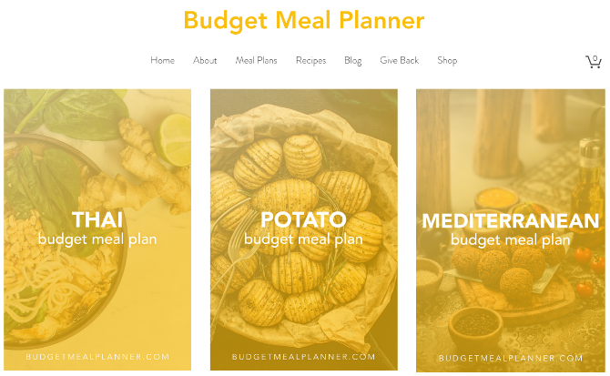 Budget Meal Planner tells you how to make healthy meals at $5 per day