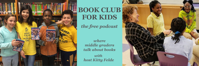 the best podcasts for kids - Book Club for Kids