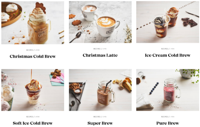 Paulig Barista Institute's free coffee recipes by professional barista trainers