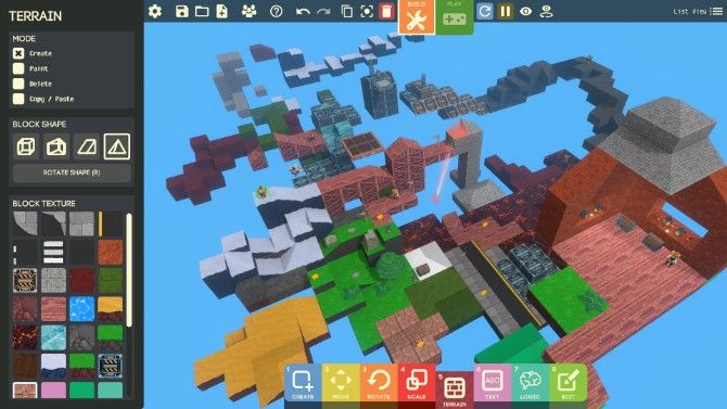 Google's Game Builder on Steam lets anyone build a game without any coding or design skills
