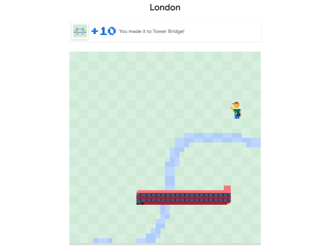 Play the classic Snake game as a new Google Maps version