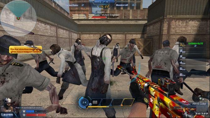 FPS browser games - Global Strike