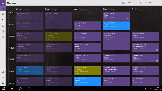 good plan app windows 10