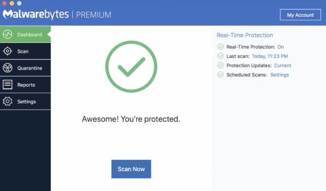 Malwarebytes Mac Free Antivirus