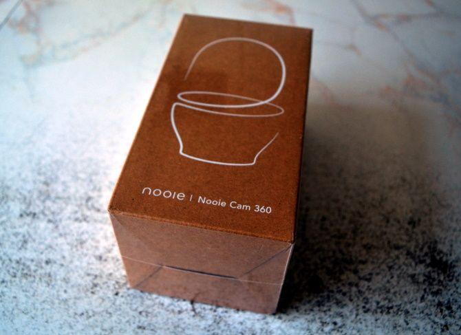 La Nooie Cam 360 se envía con una caja inteligente