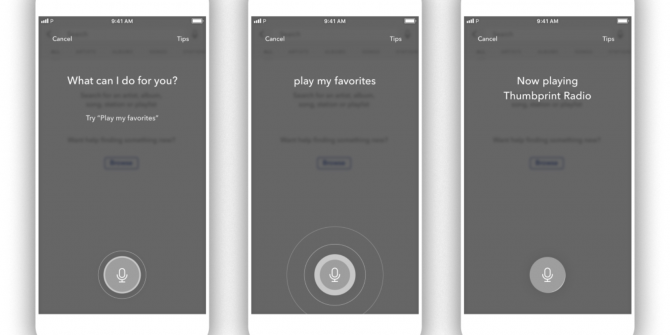 You Can Now Control Pandora With Your Voice
