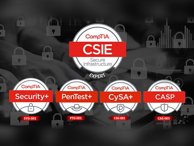 Launch Your Six-Figure Career in IT With This Essential CompTIA Security Training