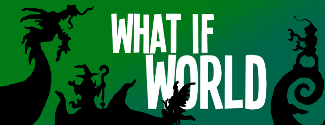 the best podcasts for kids - What If World