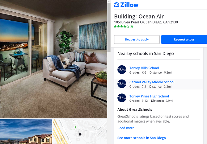 zillow listing