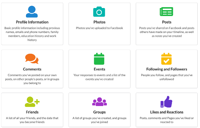 SocialVault lets you store and browse all your facebook data even after deleting the account