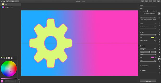 Best Vector Software for Mac Cheap Pixelmator