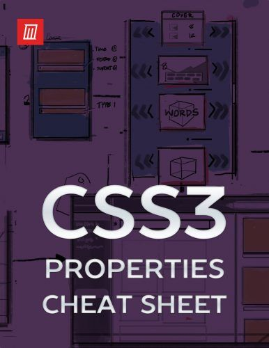 The Essential CSS3 Properties Cheat Sheet
