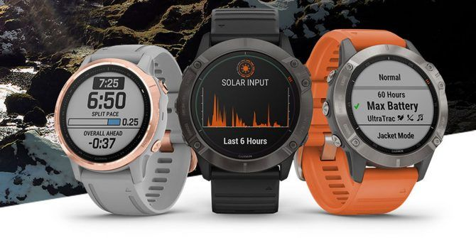 Garmin Unveils Fenix 6X Pro: GPS Smartwatch With Solar Charging