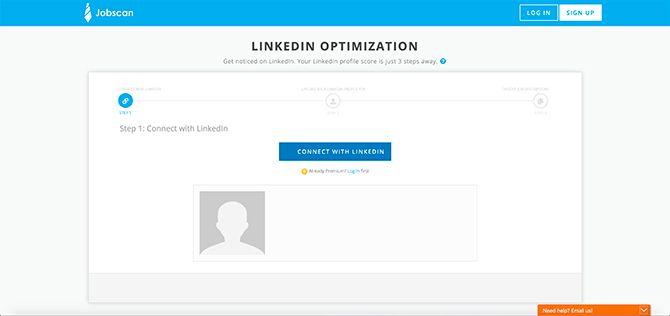 Jobscan Premium Account LinkedIn Optimization