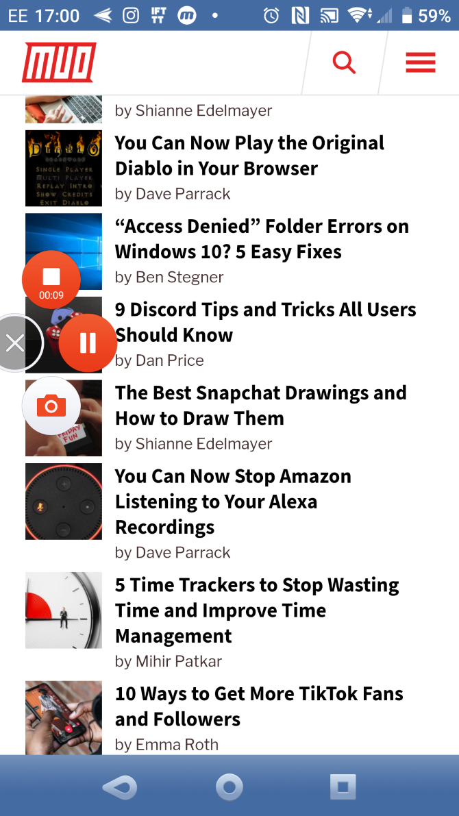 The Best Screen Recorder Apps for Android