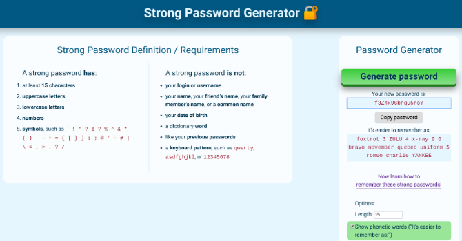 5 Password Tools to Create Strong Passphrases and Update