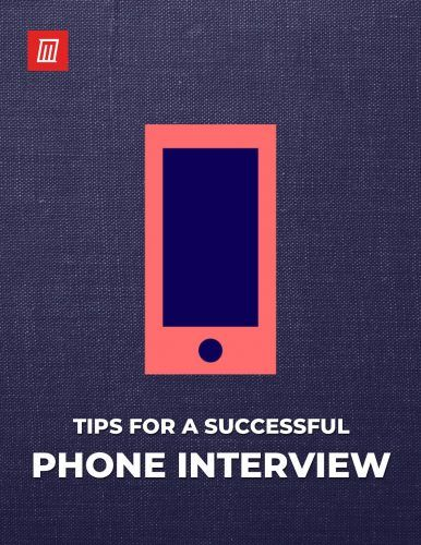 The Phone Interview Cheat Sheet: Tips for Success