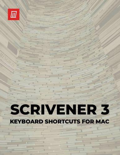 The Scrivener Keyboard Shortcuts Cheat Sheet for Mac