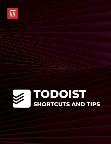 The Todoist Shortcuts Cheat Sheet for Task Management