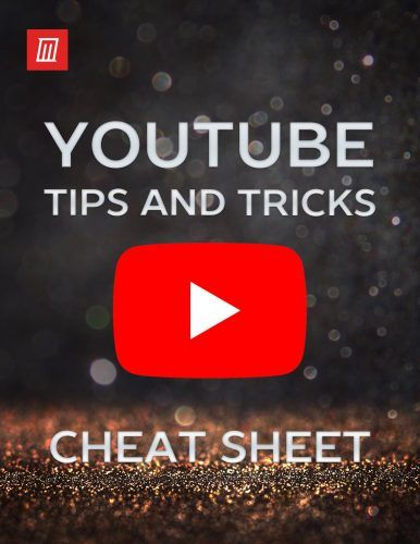 The YouTube Shortcuts and Tips Cheat Sheet