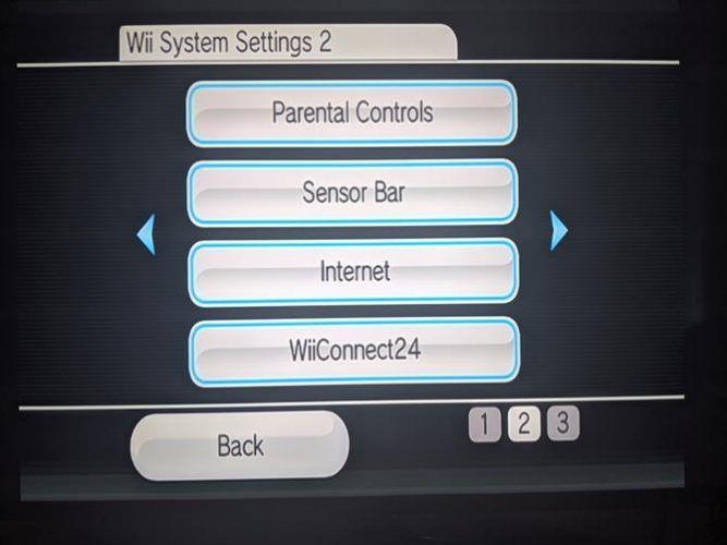Wii Internet Settings