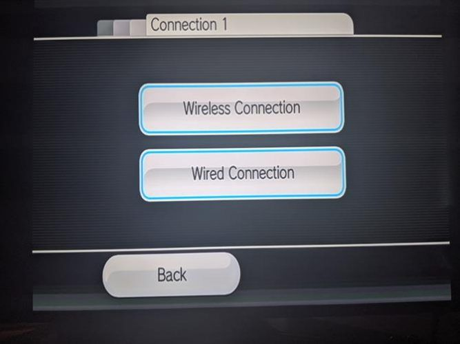 Wii Network Connection Type
