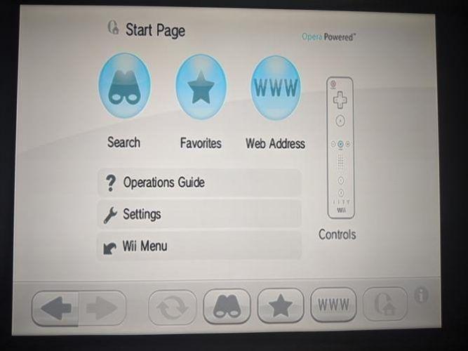Wii Internet Channel
