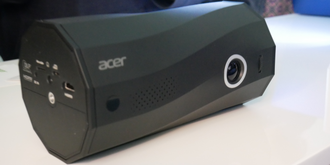 Acer Teased a Portable LED Projector and Speaker at IFA 2019