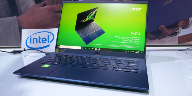Acer Swift 5: Still the World's Lightest Laptop Now With 50% More Battery Life