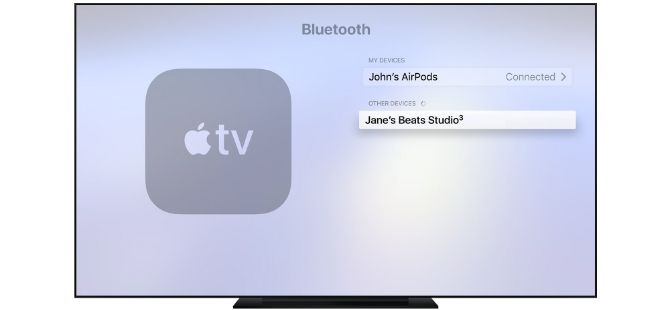 How to pair AirPods with Apple TV