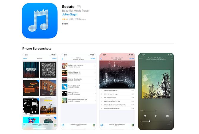 top ten free music apps for iphone