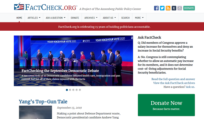 The 8 Best Fact Checking Sites for Finding Unbiased Truth
