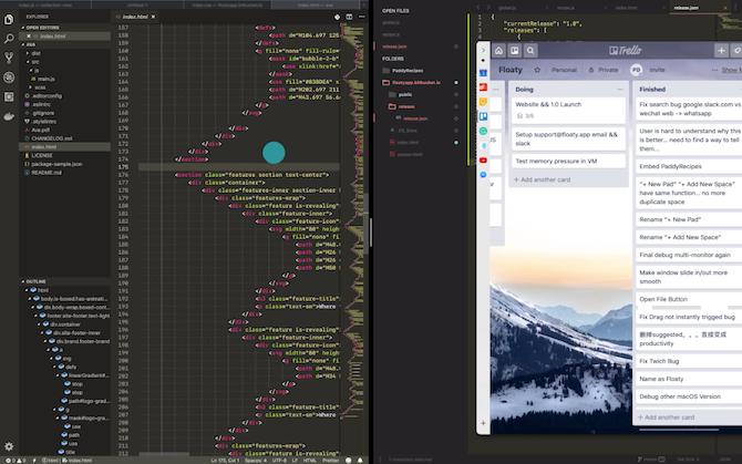 iPad-style multitasking on Mac