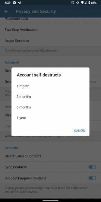 How to Deactivate or Delete Your Telegram Account