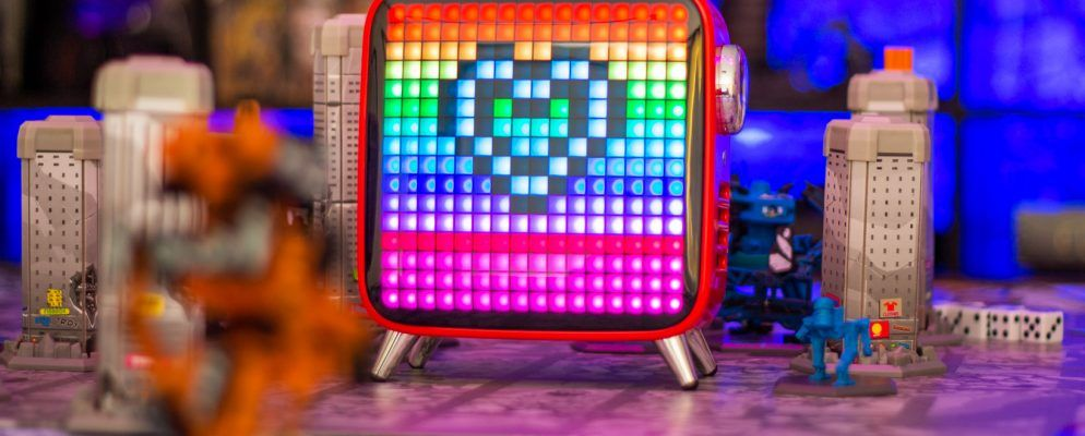 The Tivoo Max is a Retro Pixel Art Display That Doubles as a Thumping Bluetooth Speaker
